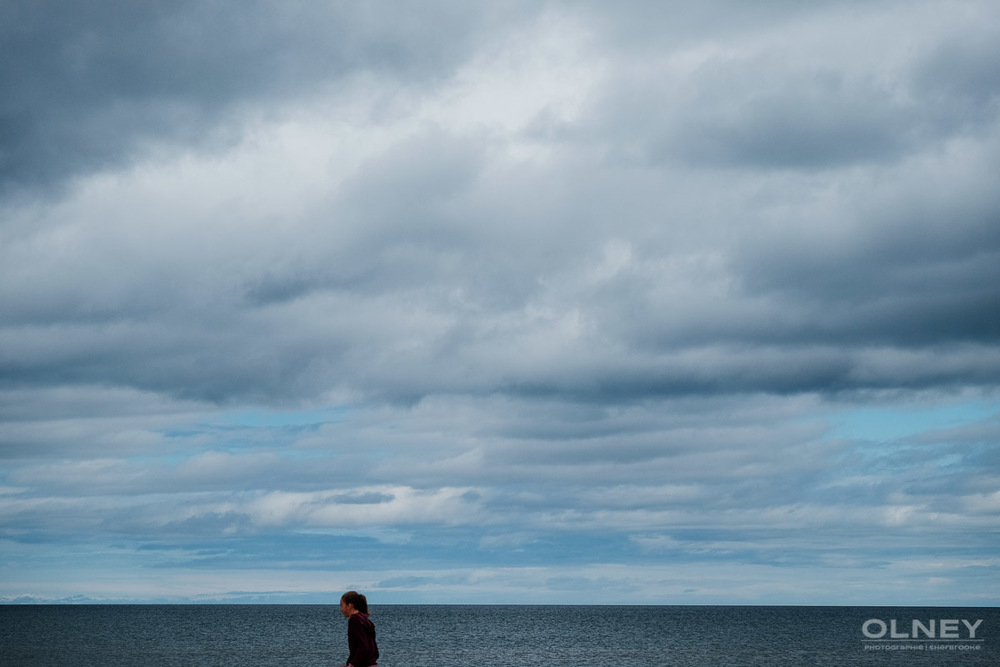 Sea and sky on PEI olney photographe sherbrooke