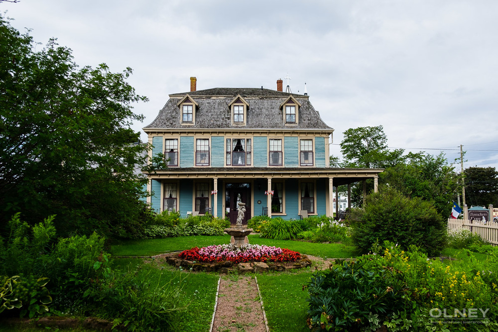 General view of Barachois Inn in PEI olney photographe sherbrooke