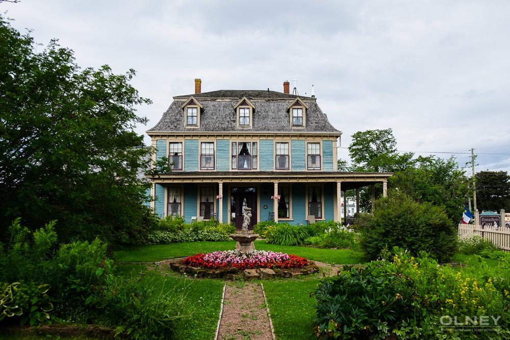General view of Barachois Inn in PEI olney photographe sherbrooke