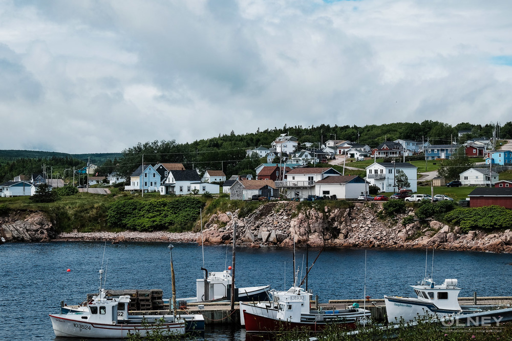 Village on the Cabot Trail olney photographe sherbrooke