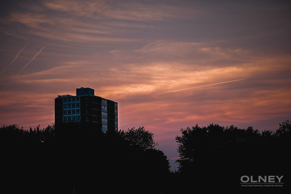 sunset montreal from park lafontaine olney photographe sherbrooke