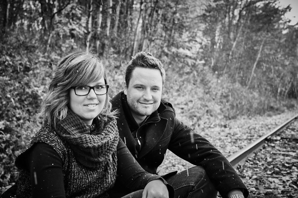 photographie couple et rail de chemin de fer olney sherbrooke