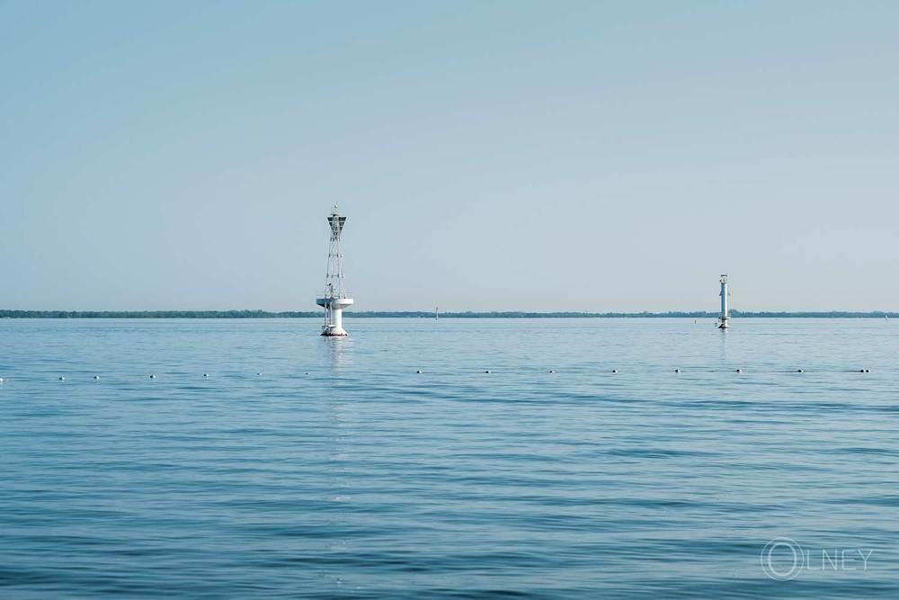 lac st-françois vu de la plage st-zotique