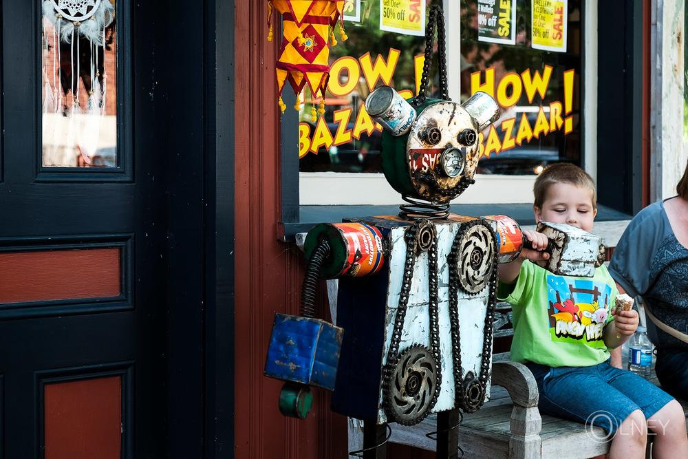 Robot in Charlottetown Prince Edward Island