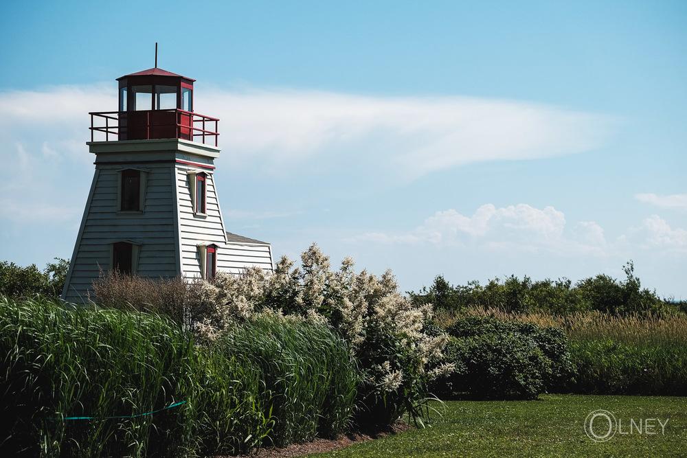 Lighthouse in Cap-Egmont Prince Edward Island