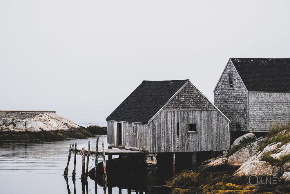 sheds in peggy's cove nova scotia