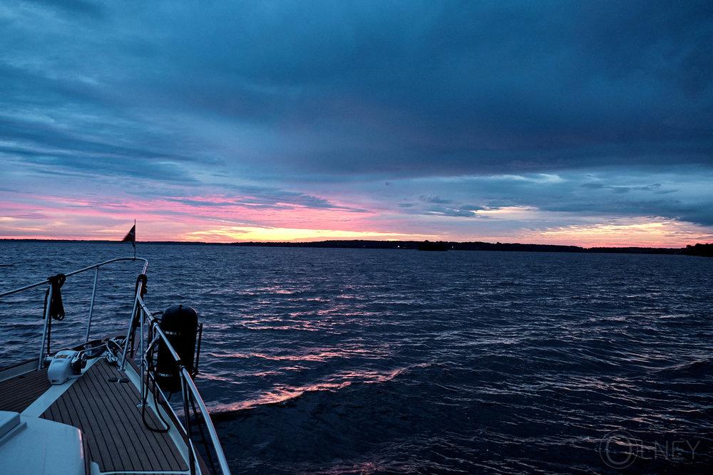 sunrise on lac des deux-montagnes QC
