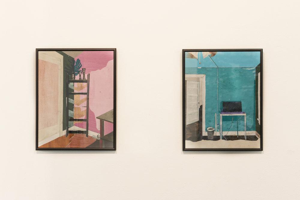 Pink Room.Blue Room