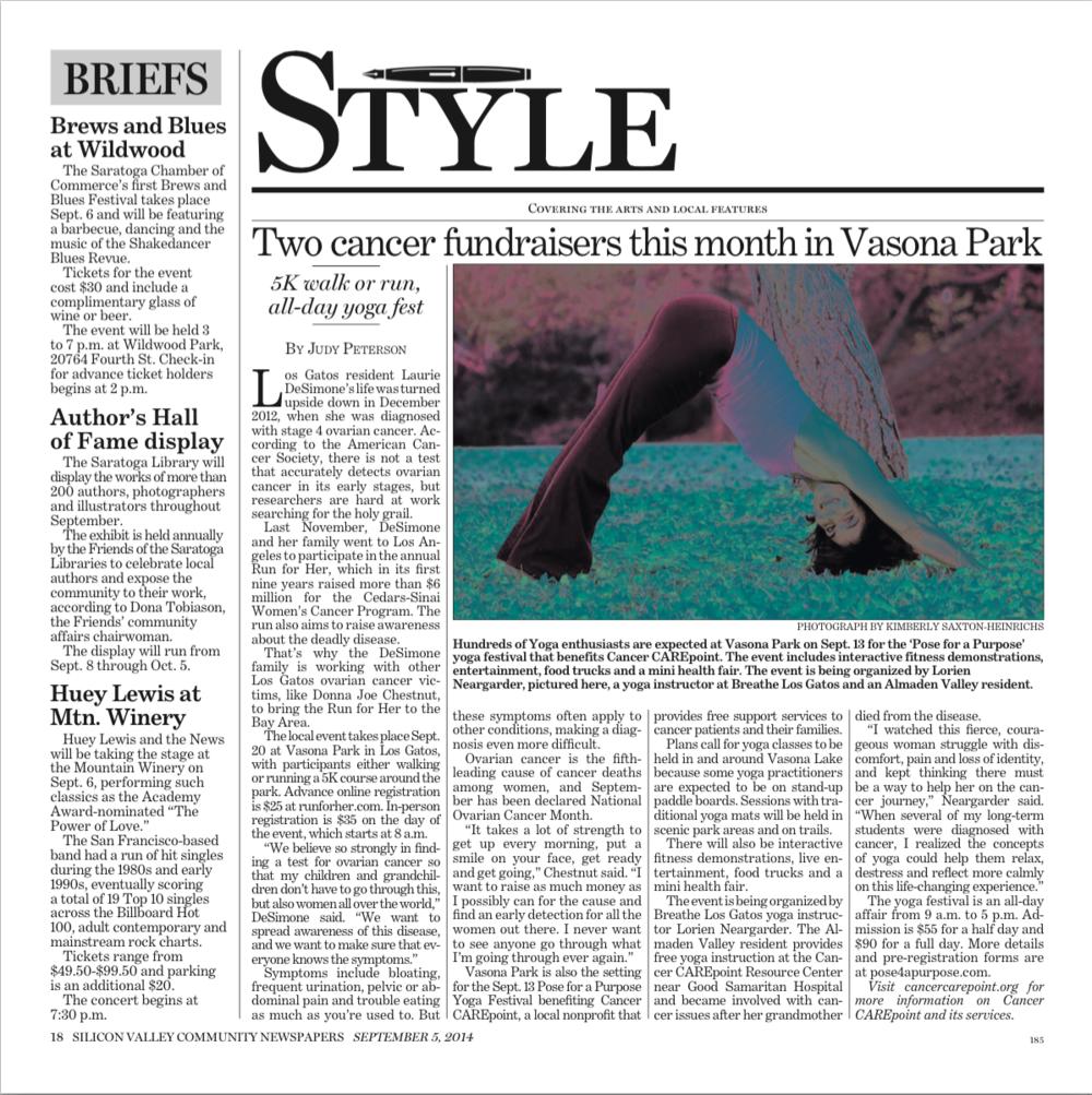 Saratoga News 9.15.2014