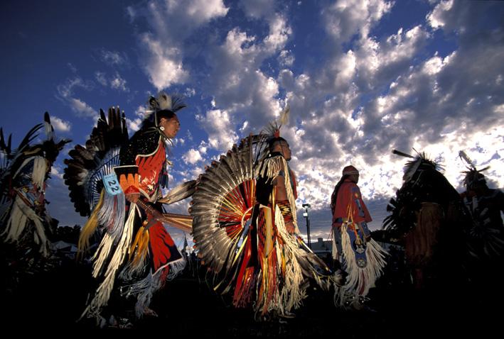 Celebration atWarm Springs Indian Reservation