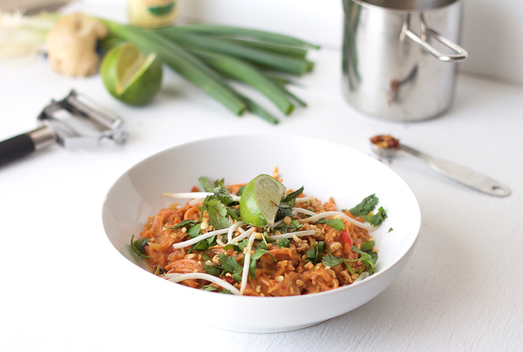 Sweet Potato Pad Thai Jessica Kathryn Kantak
