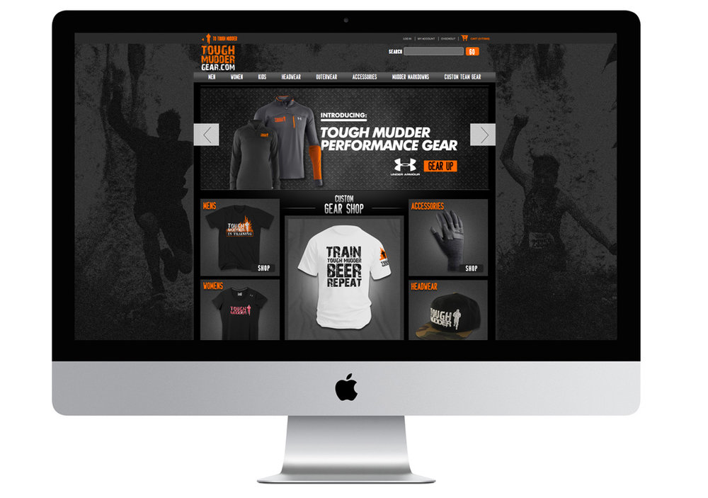 Tough Mudder E-Commerce