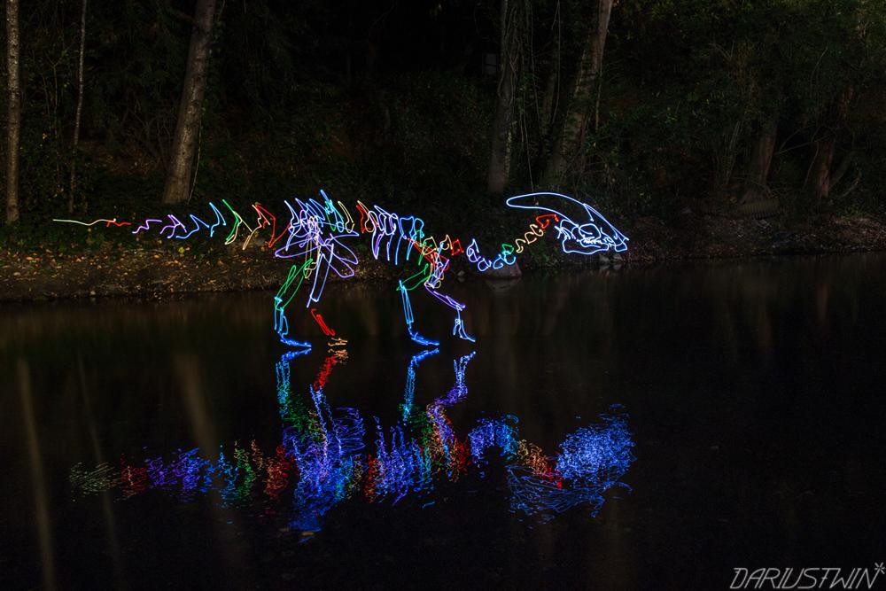 spectral parasaurolophus