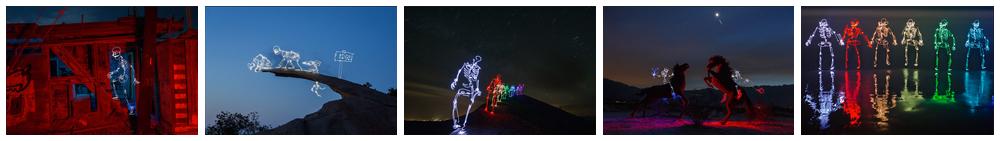 light skeletons