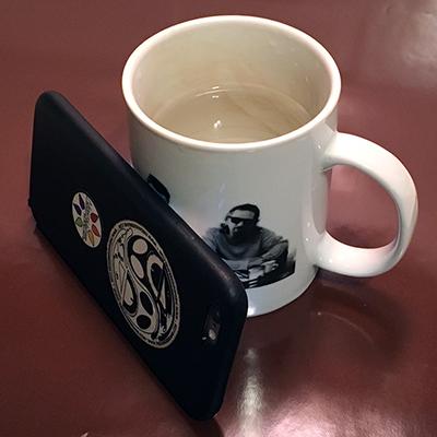 coffee mug tripod