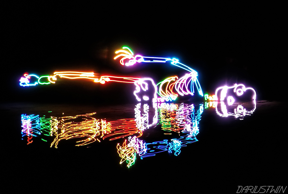 gopro light-painting