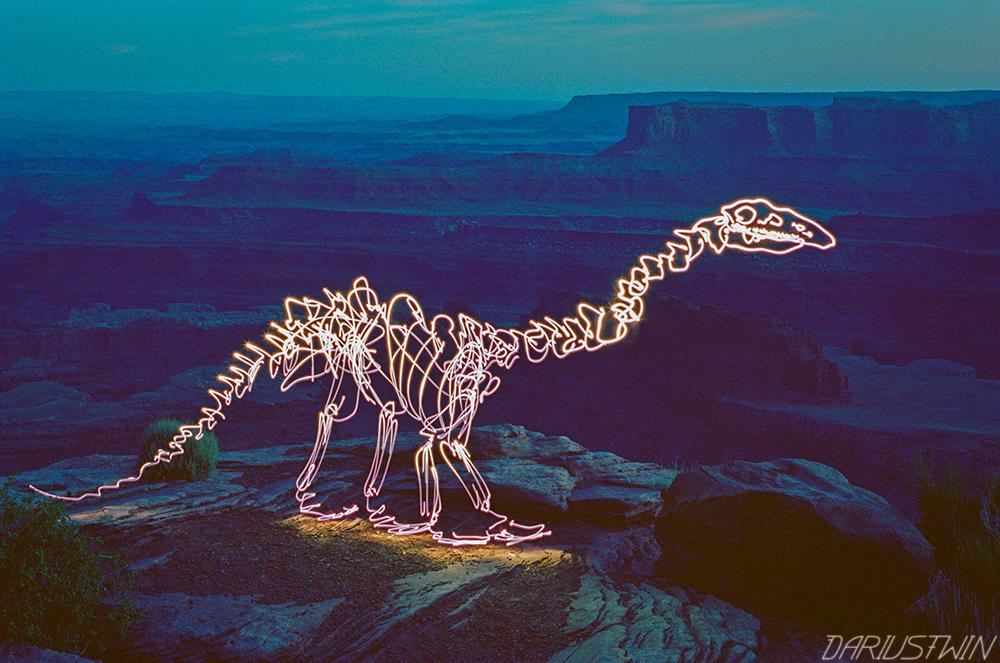 Amethyst Dinosaur
