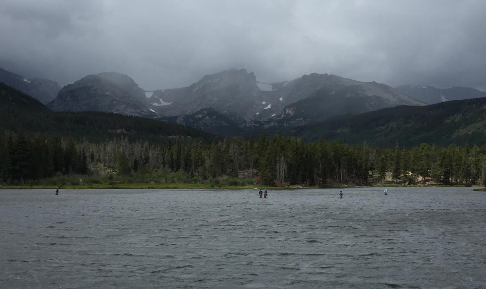 Sprague Lake Fishermen