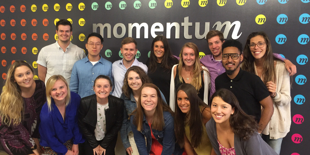 Momentum NY's summer interns