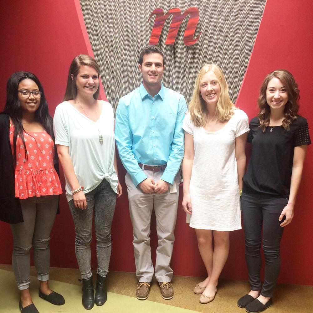 Momentum St. Louis' summer interns