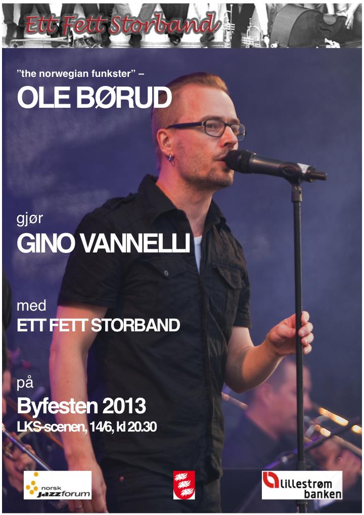 Plakat byfesten 2013