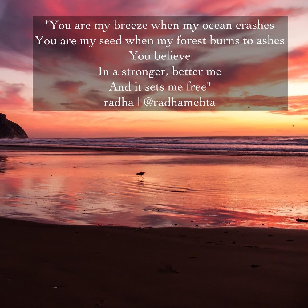 Quote:  Radha Mehta  Image: Michael Baird