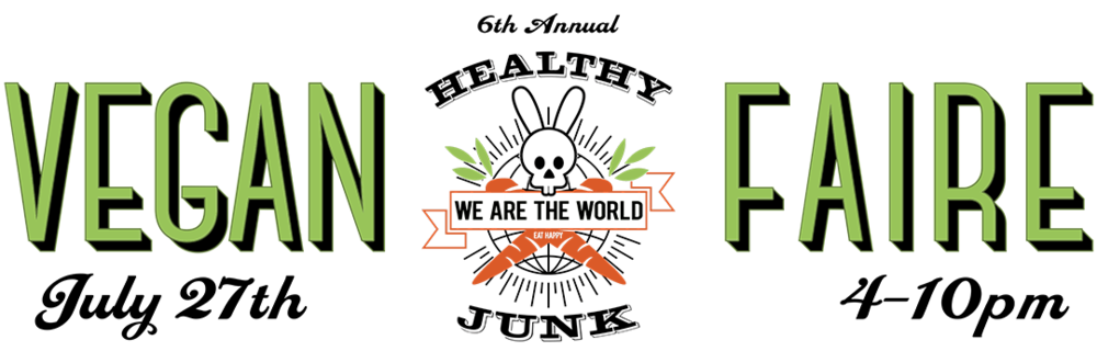 Vegan Faire July 27 4-10pm