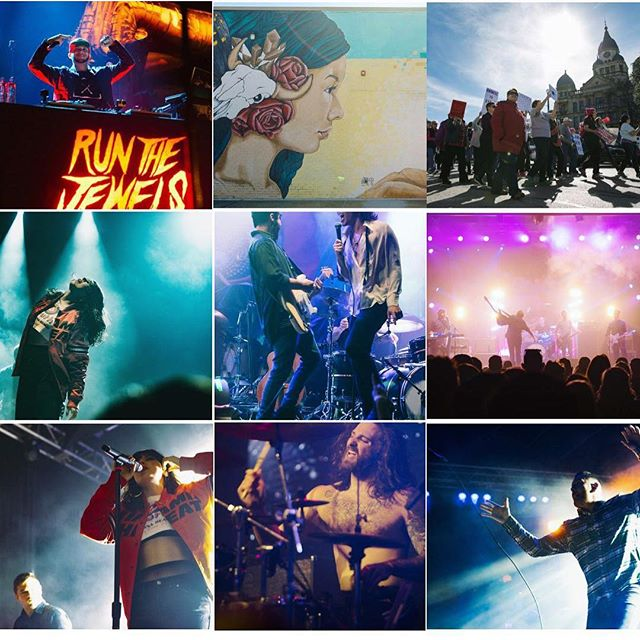 Top 9 from this year. Was a great year and hope to have an even better one in 2019! . . .  #top9of2018 #top9 #music #photography #photographer #2018 #2019 #concert #music #musicphotography #dallas #denton #audioloveofficial #gasmonkey #rtjxmas #aesthetic