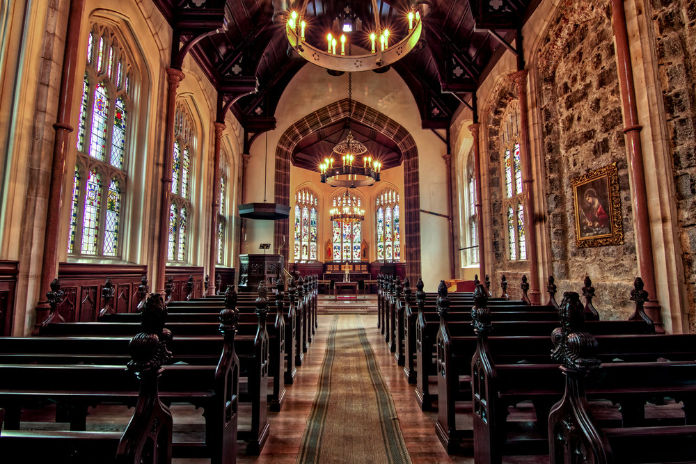 Cluny Castle Chapel scotland