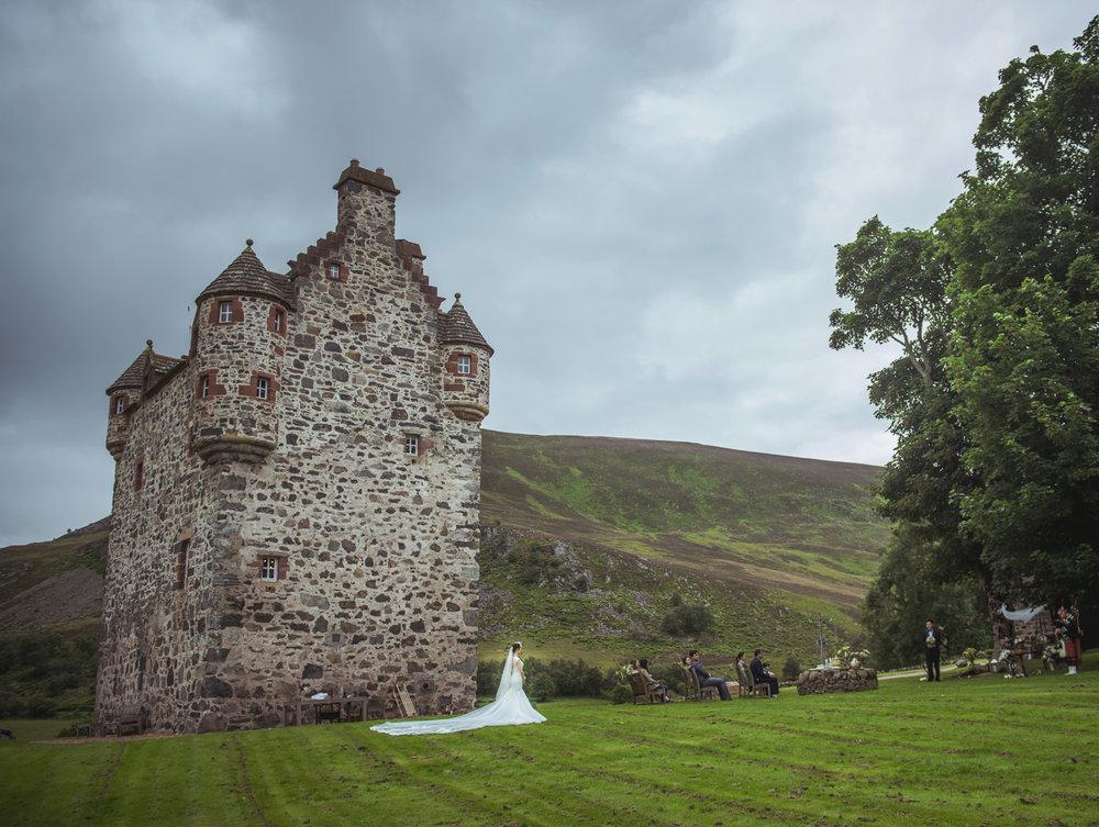 Forter Castle exterior