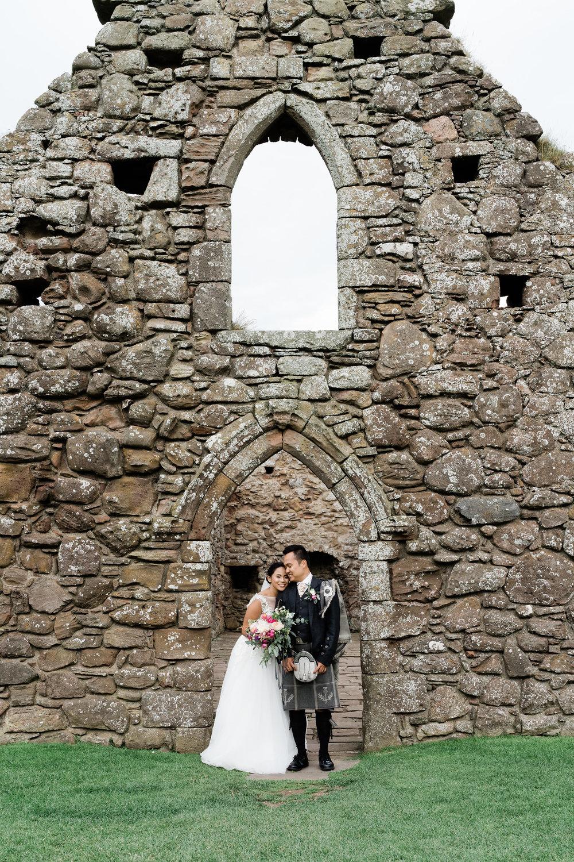 dunnottar castle chapel