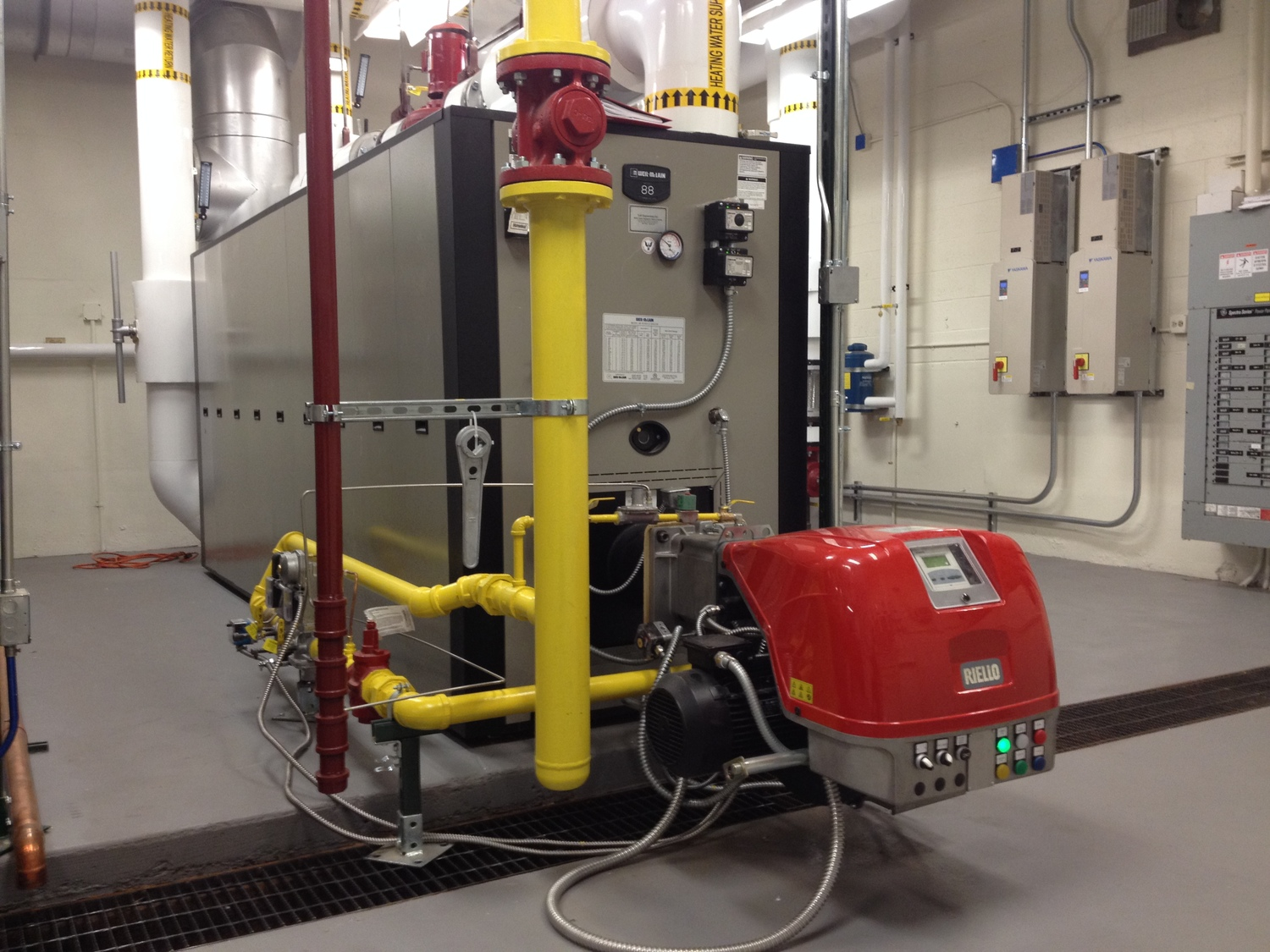 Products — Commercial Boilers, Burners & Water Heaters