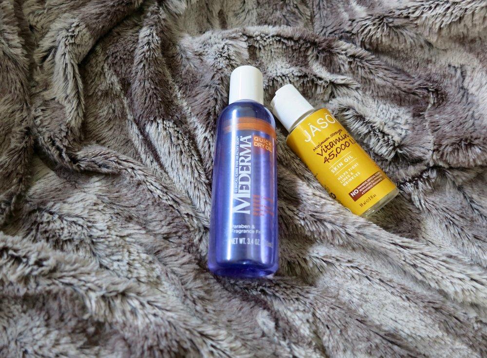jason-vitamin-e-oil-mederma-dry-oil-drugstore-skincare-best-moisturizer-for-women-of-color-hyperpigmentation