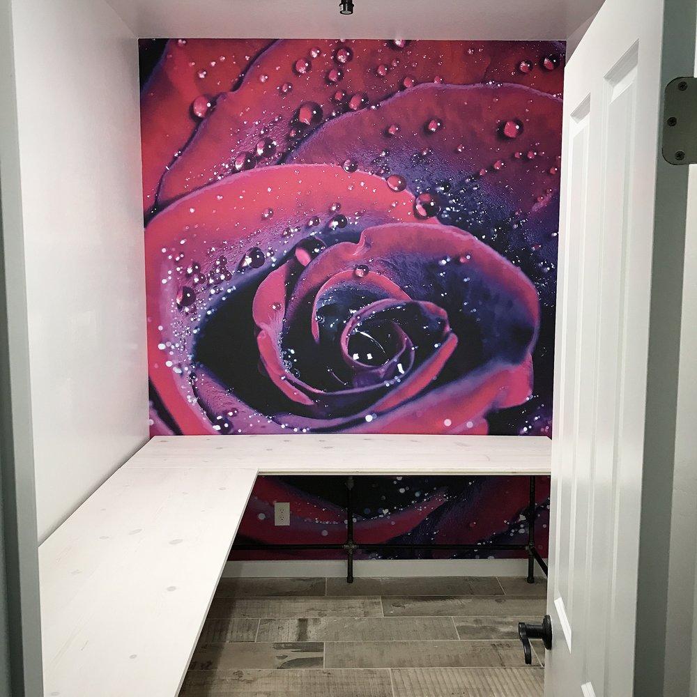 Wayne L-shaped Corner Desk Whitewash