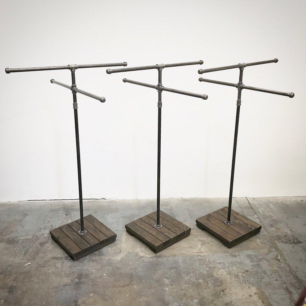 Ira 4-Way Apparel Rack