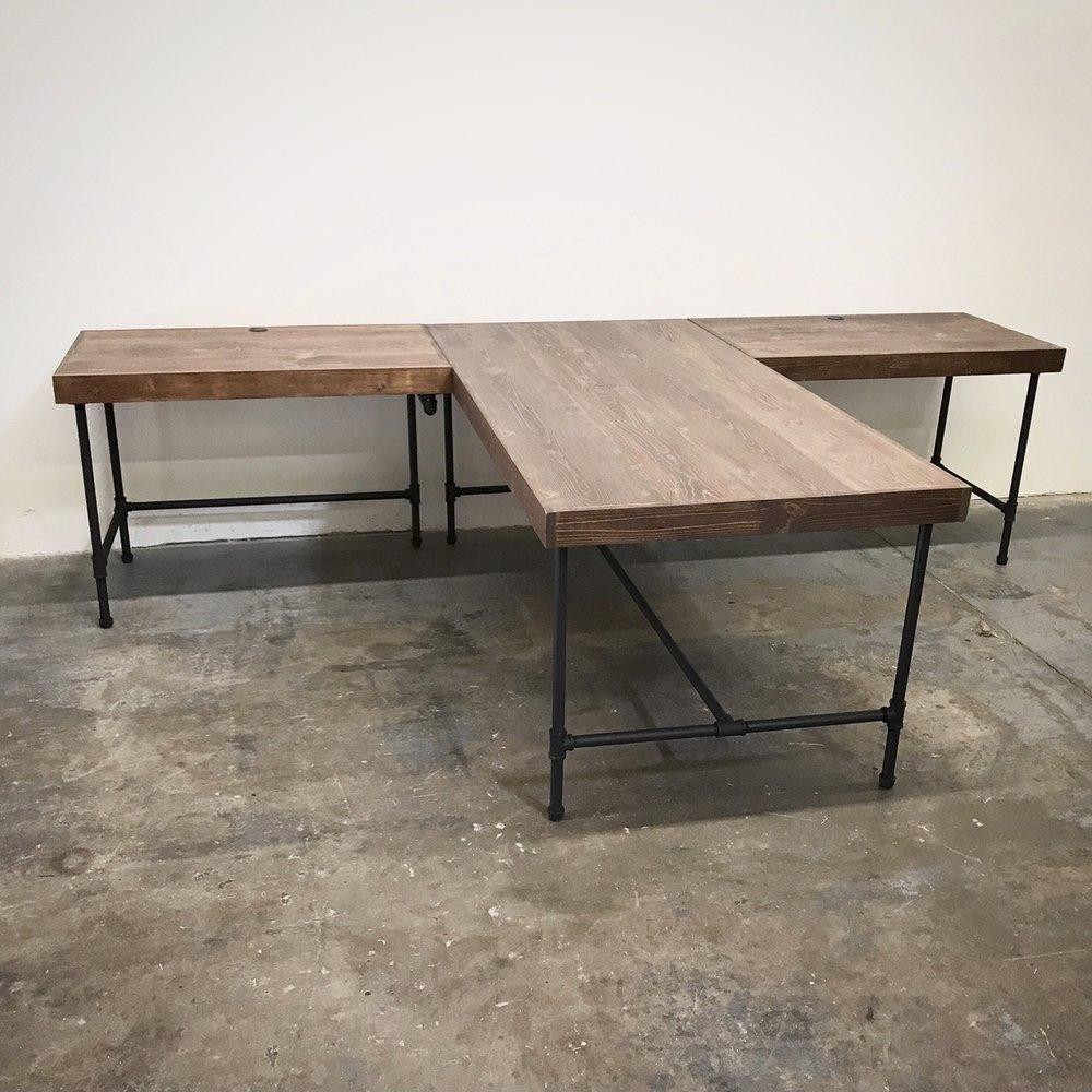 "Wayne T-Shaped Desk 120"""