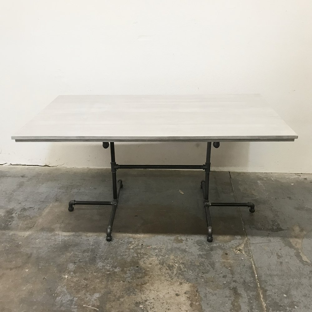 "Wayne Dining Table 60"" with Custom Base"