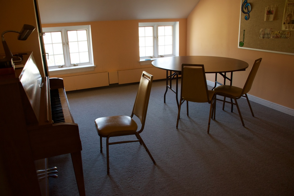 A typical Parkminster practice room