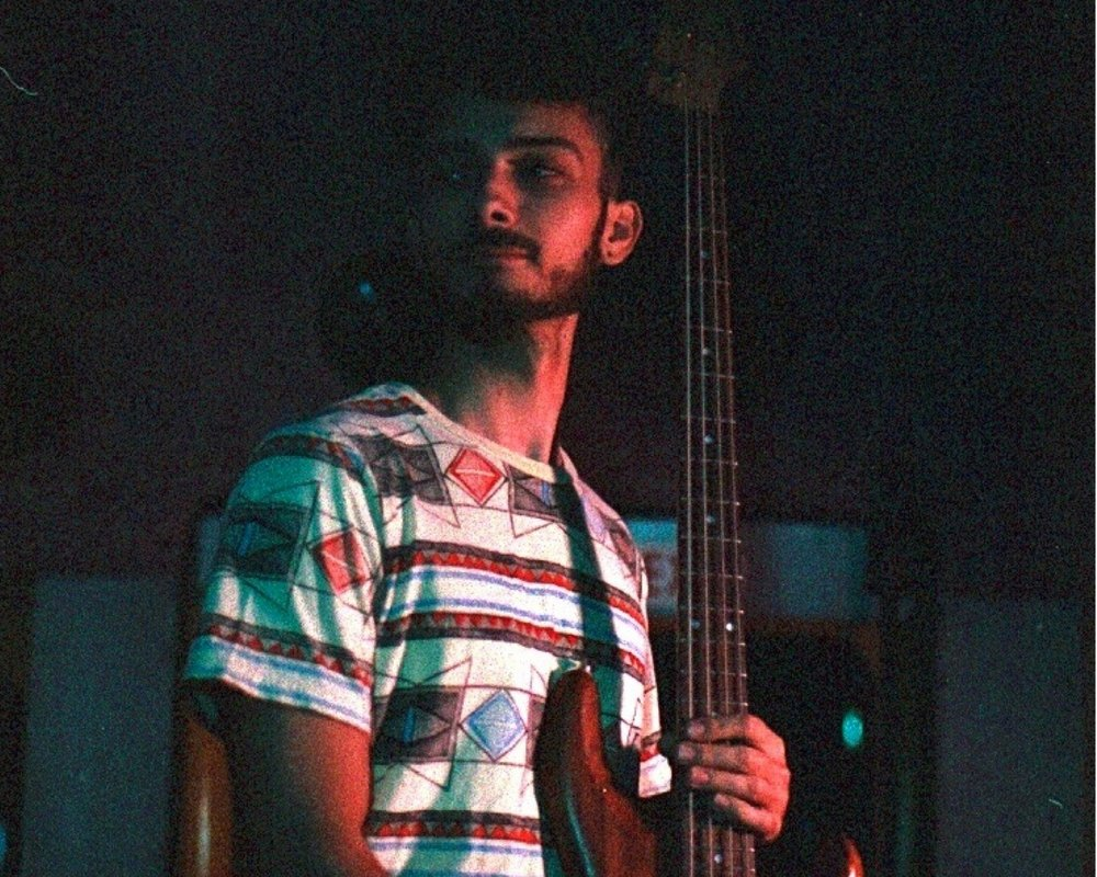 "The man behind the bass on ""Easy"" is none other than LA's Alex Rushka. Alex and I have been long time friends, and his comfort in genres from reggae to soul helped shape this EP immensely. We've been housemates and band mates in the past, he's my brother in music!"