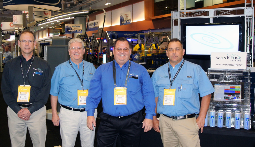 Washlink Systems team, Andrew Davies, Jay Japka, Steve Homan and Mike Jensen