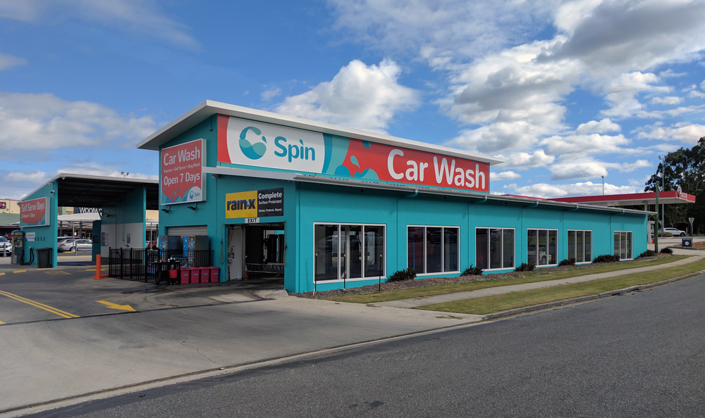 Spin Express Car Wash, Chermside, Australia