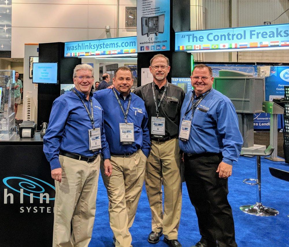 (left to right) Jay Japka, Mike Jensen, Andrew Davies, Steve Homan.