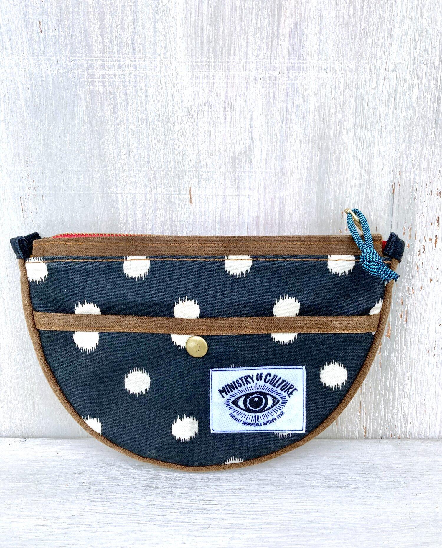 Festival bum bag Fanny pack with canvas design