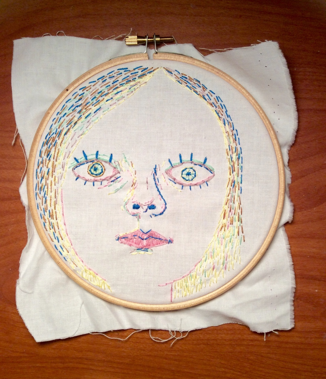 Embroidery done!