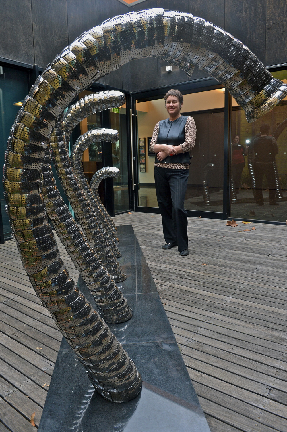 A Parallel Universe   La Trobe Visual Arts Centre 2012  Photo  Bendigo Advertiser   May 28 2012