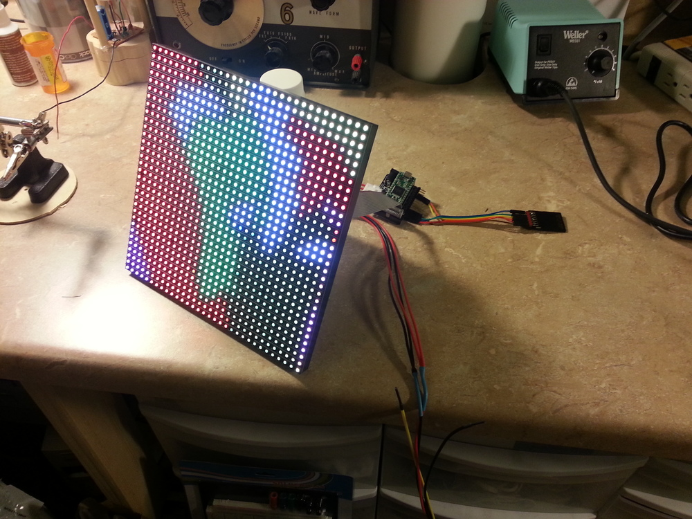 Animated RGB LEF Panel
