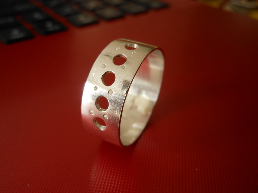 Portal silver ring $45