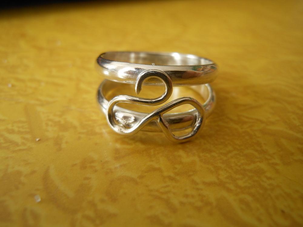 Sterlingsilver Swan ring $100