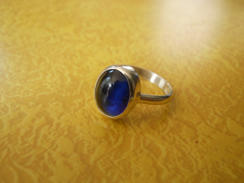 Blue Sapphire Ring $200