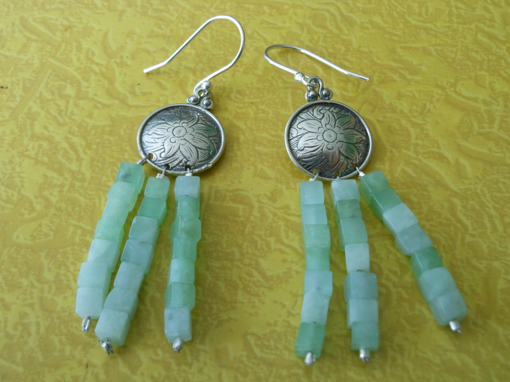 Silver and Green Advent $75 Sold out